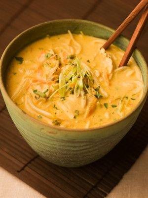 Thai Coconut Lime Curry Soup