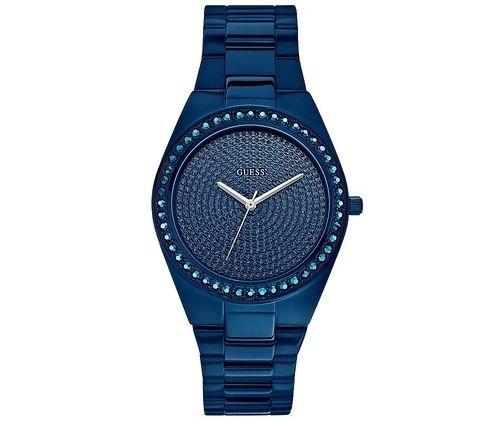 Blue-Tone Radiant Glitz Watch