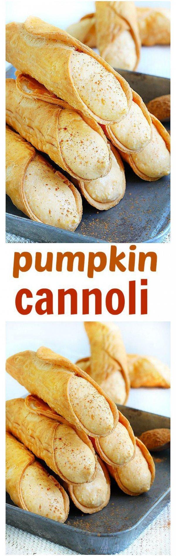 Pumpkin Cannoli