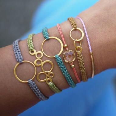 Simple Shamballa Bracelet
