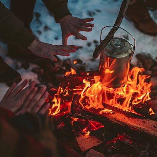 campfire, lighting, fire, flame,