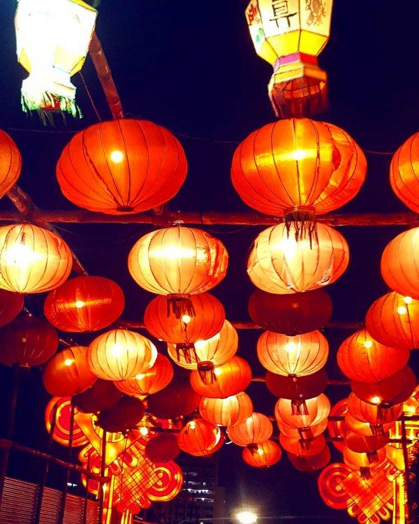 orange, lighting, light fixture, lantern, mid autumn festival,
