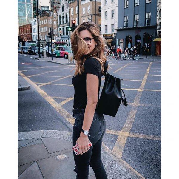 clothing, black, footwear, sleeve, dress,