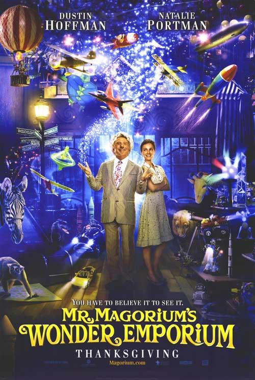 Mr. Magorium's Wonder Emporium...