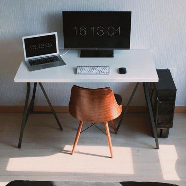furniture, desk, table, piano, multimedia,