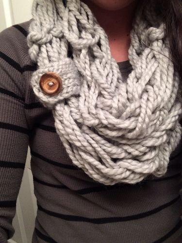 Arm Knit Scarf