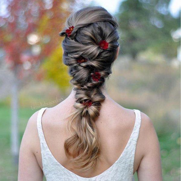 hair, hairstyle, long hair, black hair, braid,