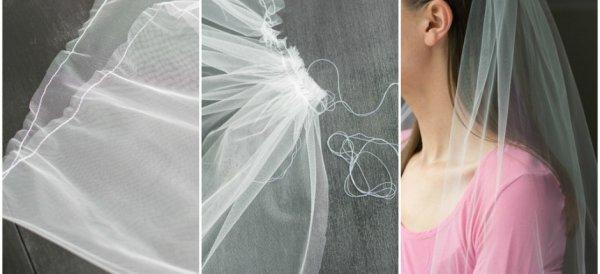 Diy Wedding Veil.7 Wonderfully Beautiful Wedding Veils You Can Make Yourself