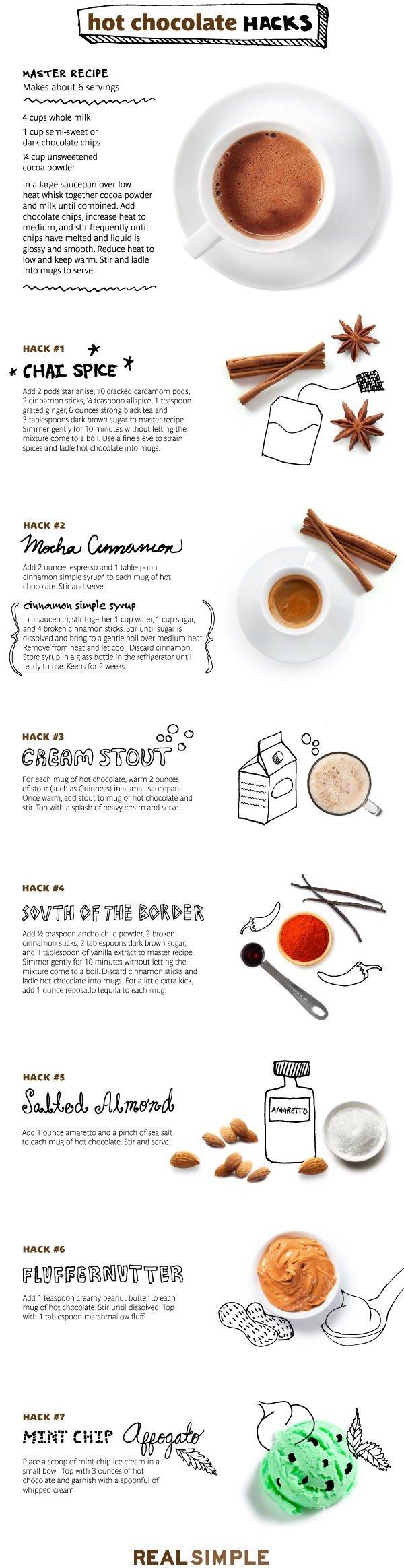 Hot Cocoa Hacks