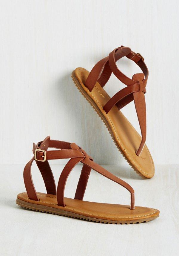 Serene Campsite Sandal