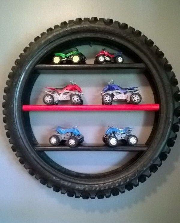 Tire Display Shelf