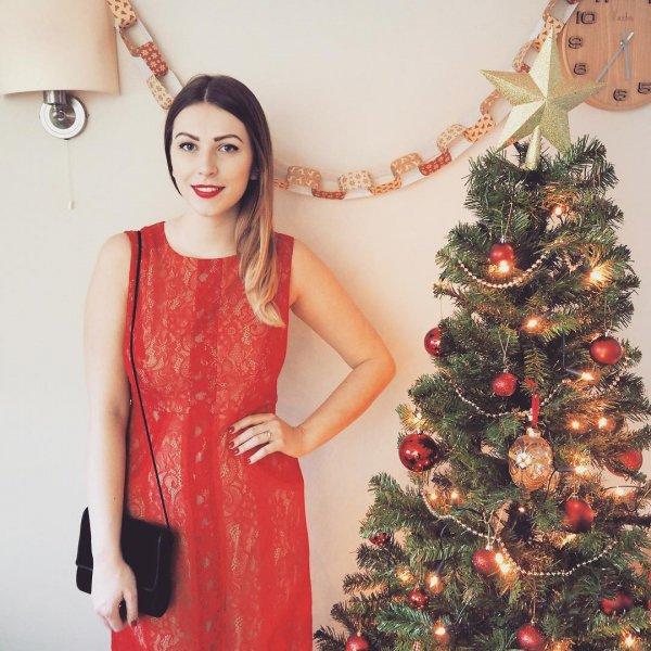 Hayley Owen's Holiday Red Lippie