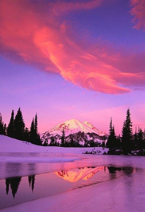 Mt. Rainier, Washington State
