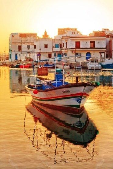Old Port of Bizerte, Tunisia