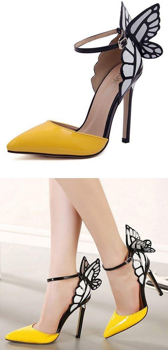 high heeled footwear,footwear,shoe,yellow,leg,