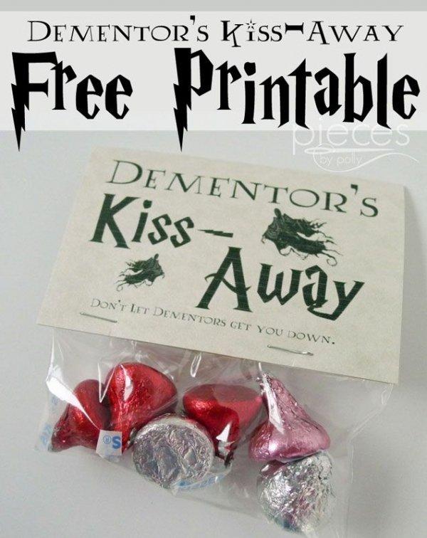 Muggle Shirt,food,produce,DEMENTORS,KISS,