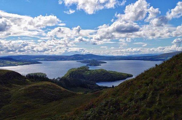 highland, mountainous landforms, geographical feature, landform, loch,