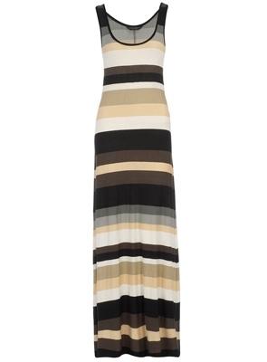 Dorothy Perkins Neutral Stripe Maxi Dress