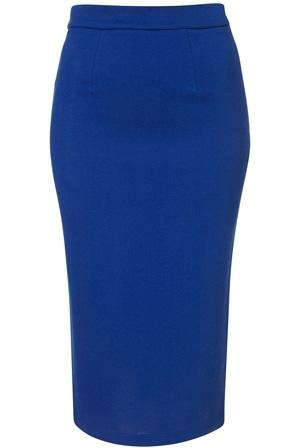 Topshop Jersey Pencil Skirt