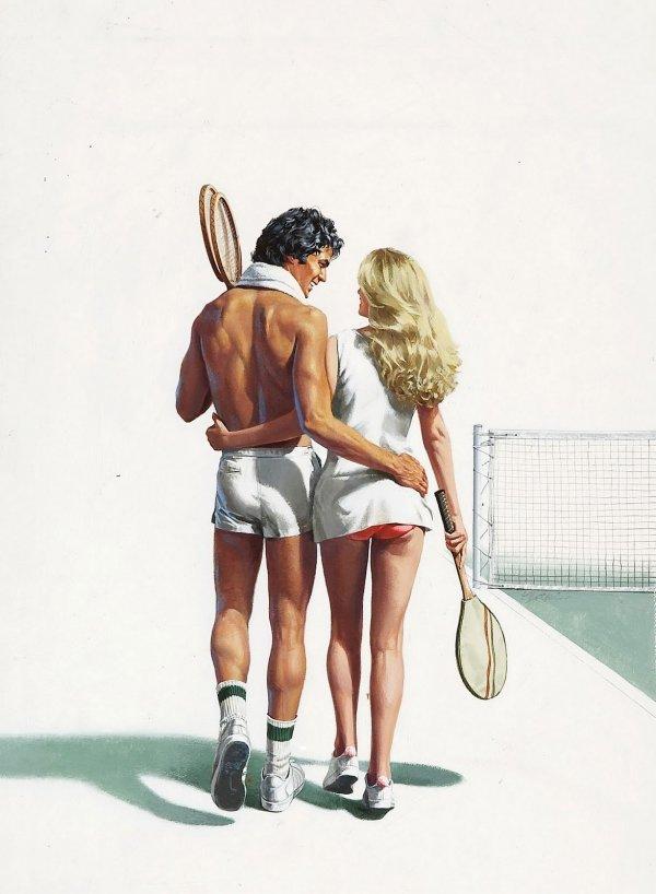 сексу рисунки большого тенниса для секса