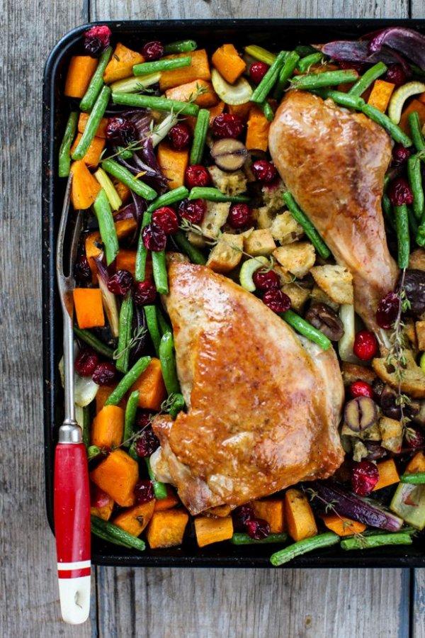 Sheet Pan Turkey Dinner