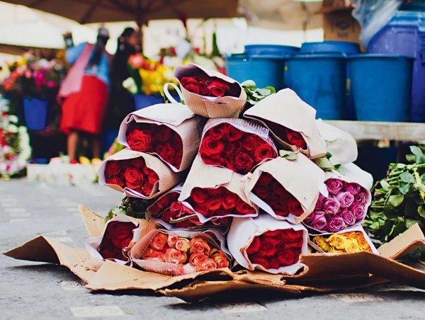Cuenca Flower Market, Ecuador