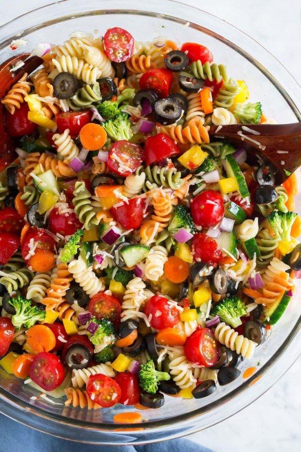 Dish, Food, Cuisine, Salad, Pasta salad,