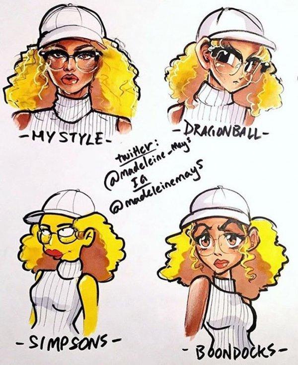 cartoon, clip art, DRAGONBALL., STYLE, Mays,