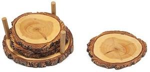 Tree Ring Coasters