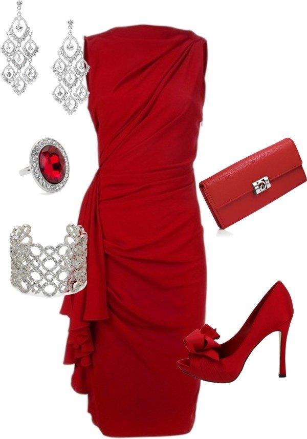 red,clothing,dress,sleeve,maroon,