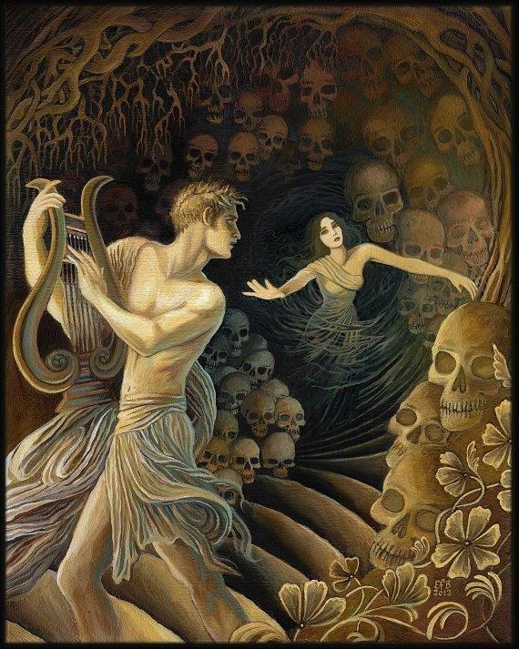 Orpheus and Eurydice - a Tragic Love Story