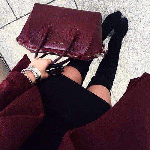 red, black, pink, clothing, handbag,