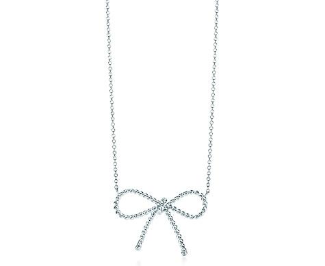 Tiffany Twist Bow Pendant