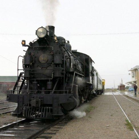 Nevada Northern Railway in Ely, Nevada, USA