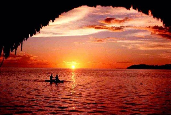 Vairou Bay in Bora Bora, French Polynesia