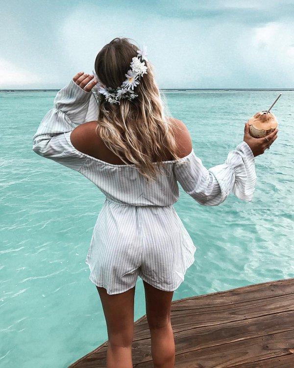 clothing, sea, girl, beauty, vacation,