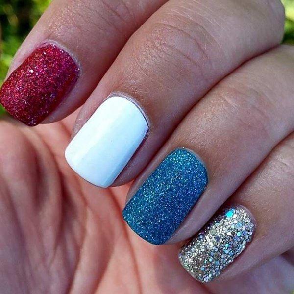 color, nail, finger, nail care, blue,