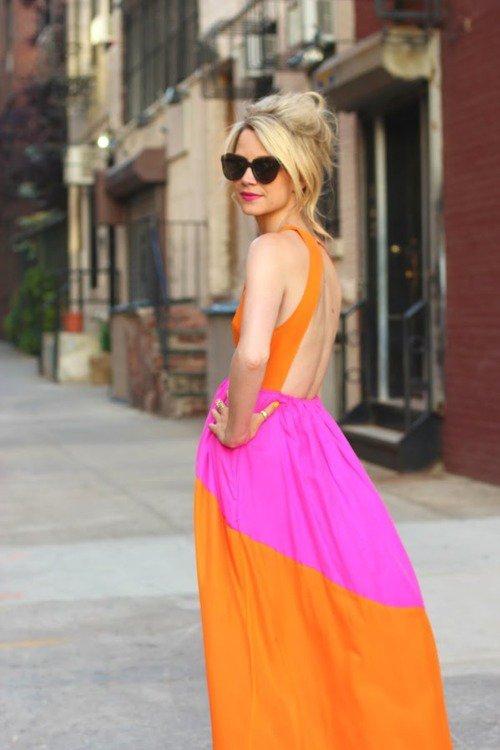 Don't Wear Orange if You're Blonde