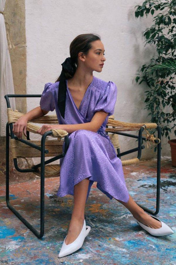 Purple, Sitting, Lavender, Footwear, Photography,