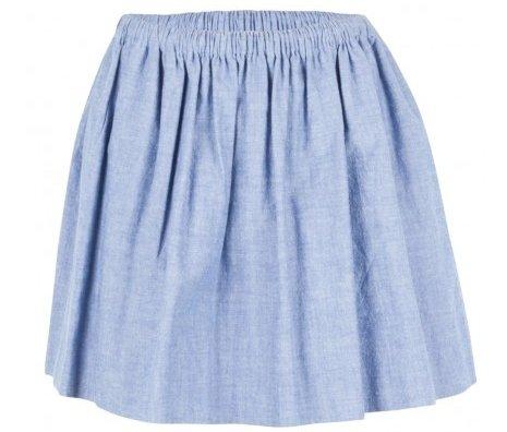 Harvey Faircloth Chambray Skirt