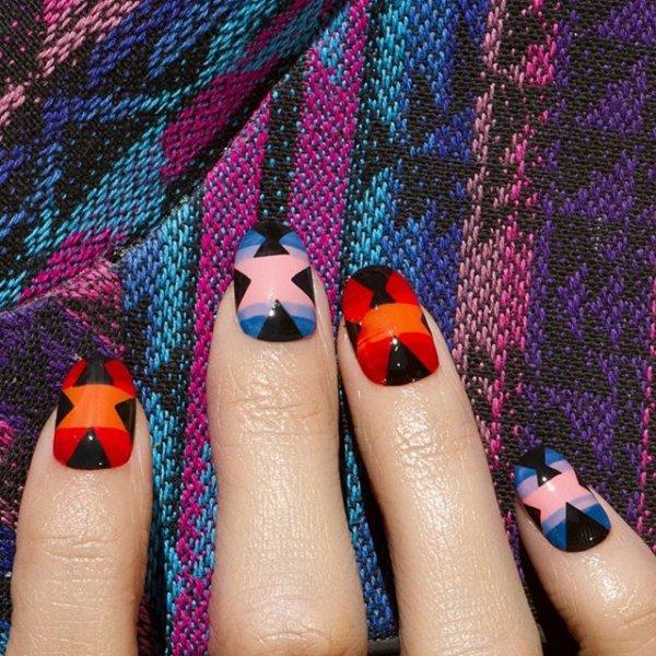 color, nail, pink, manicure, purple,