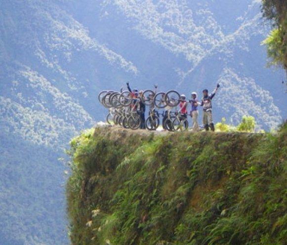 Mountain Biking in Bolivia