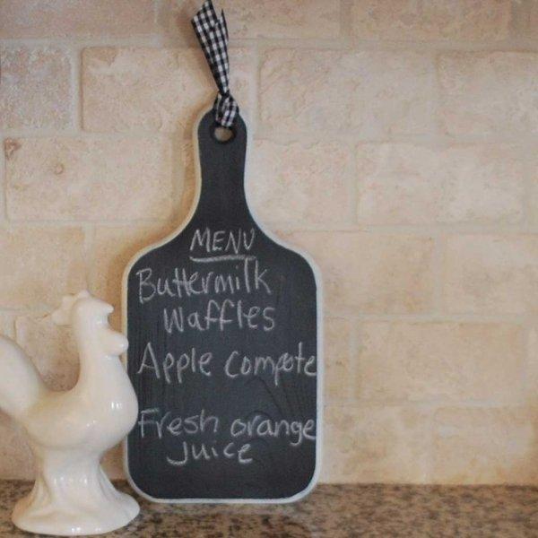 Kitchen Chalkboard