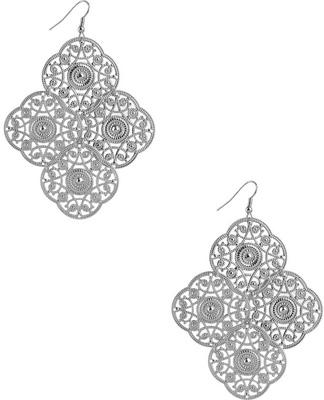 Forever21 Filigree Panel Earrings