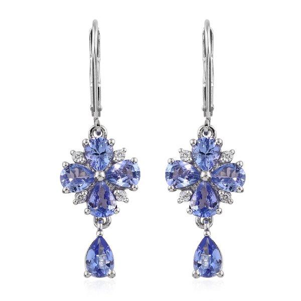 Earrings, Jewellery, Body jewelry, Fashion accessory, Cobalt blue,