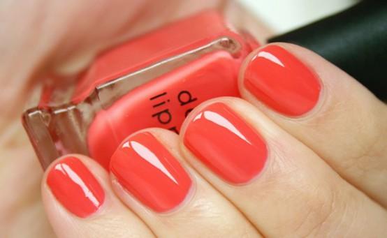 Bright Tropical Nails