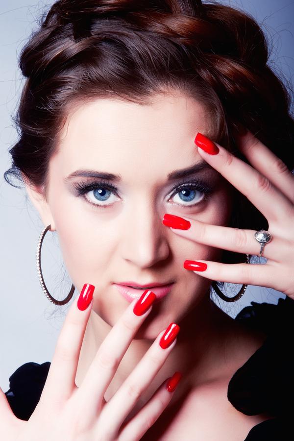 Jewel Toned Nails