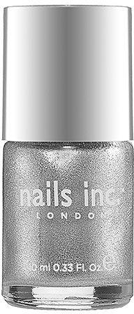 Icy Silver Nail Polish