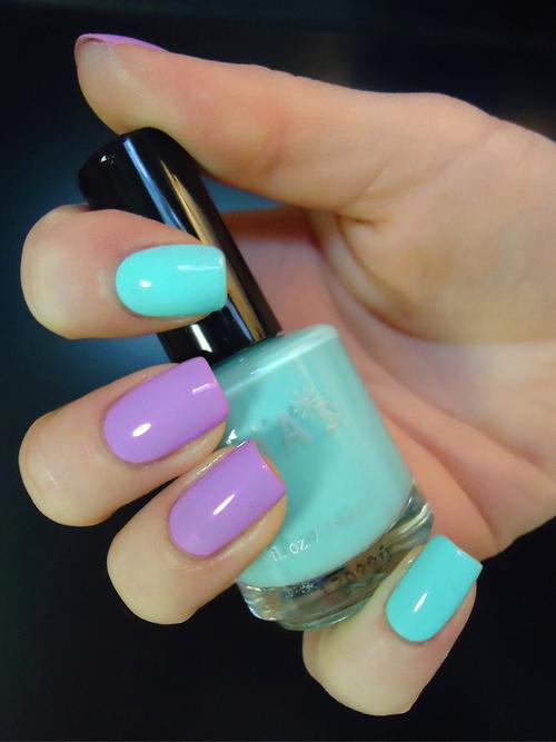 Purple Mixable Nail Polish
