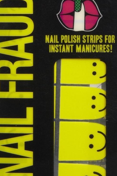 Nail Fraud Nail Polish Strips in Happy Hands